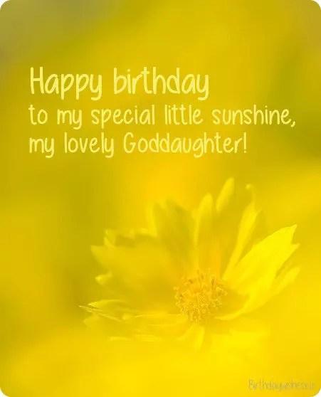 Happy Birthday Goddaughter Birthday Wishes For Goddaughter