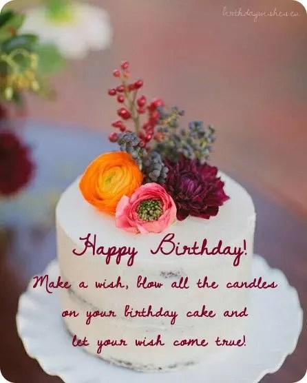 Happy Birthday Friend Wish