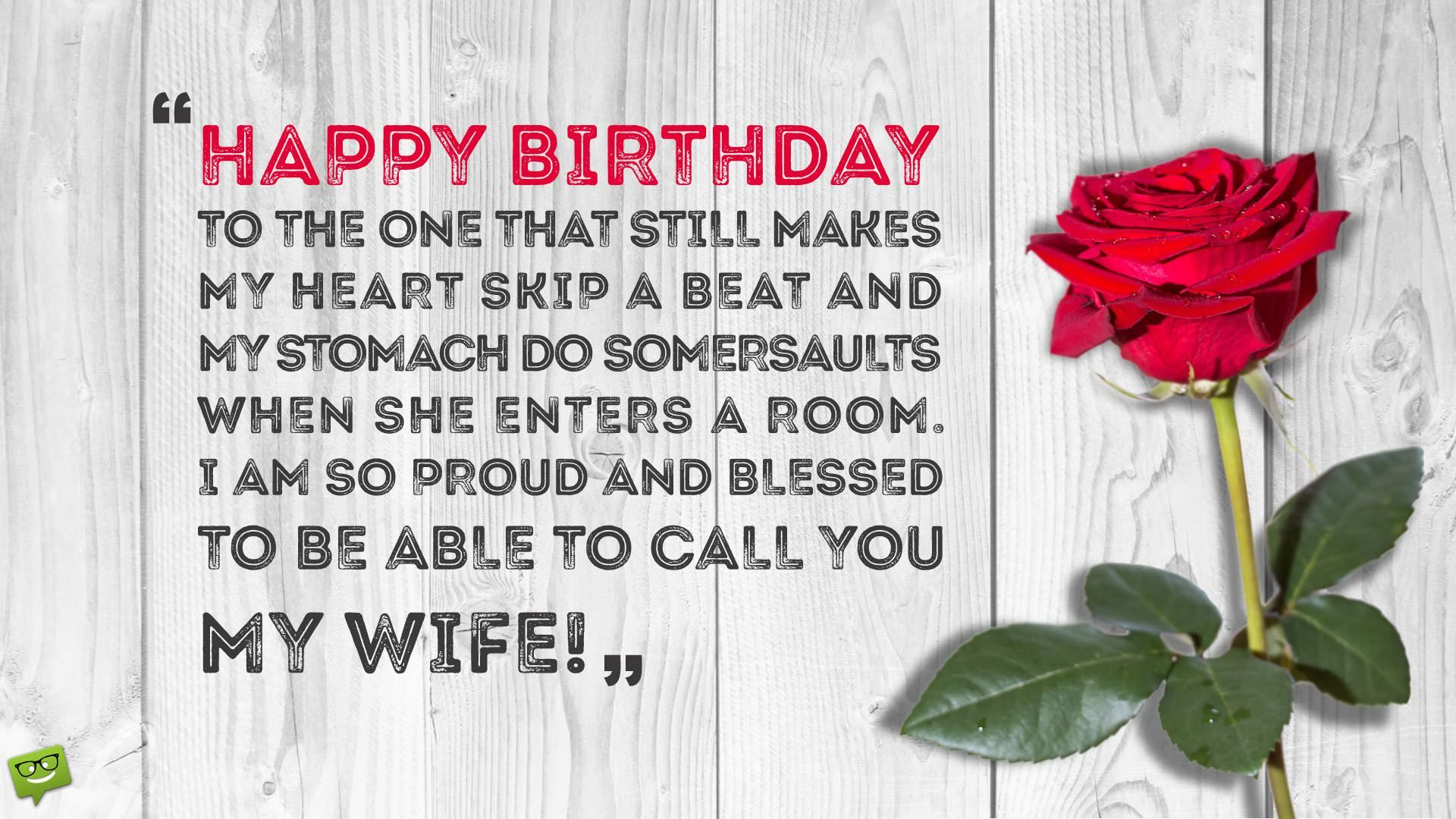 220 Birthday Wishes Your Wife Would Appreciate