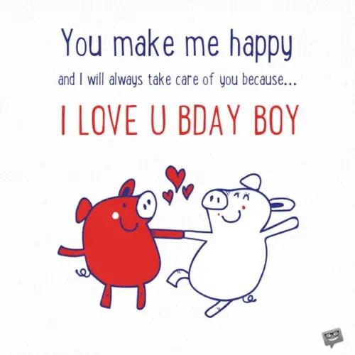 Happy Birthday Boyfriend Smart Birthday Wishes For Him
