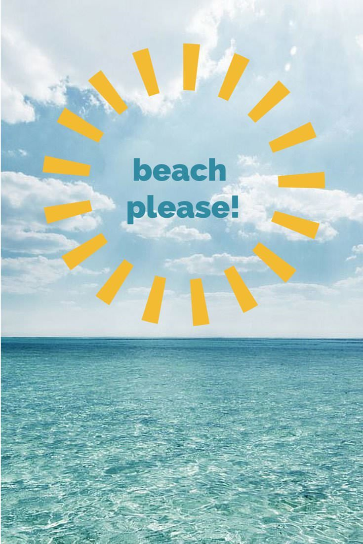 Ocean Summer And Beach Quotes