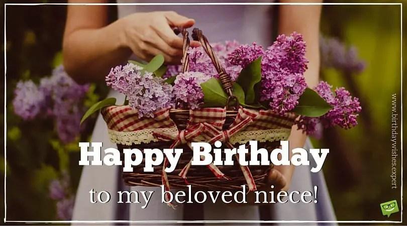 Happy Birthday Niece Birthday Wishes For My Favorite Girl