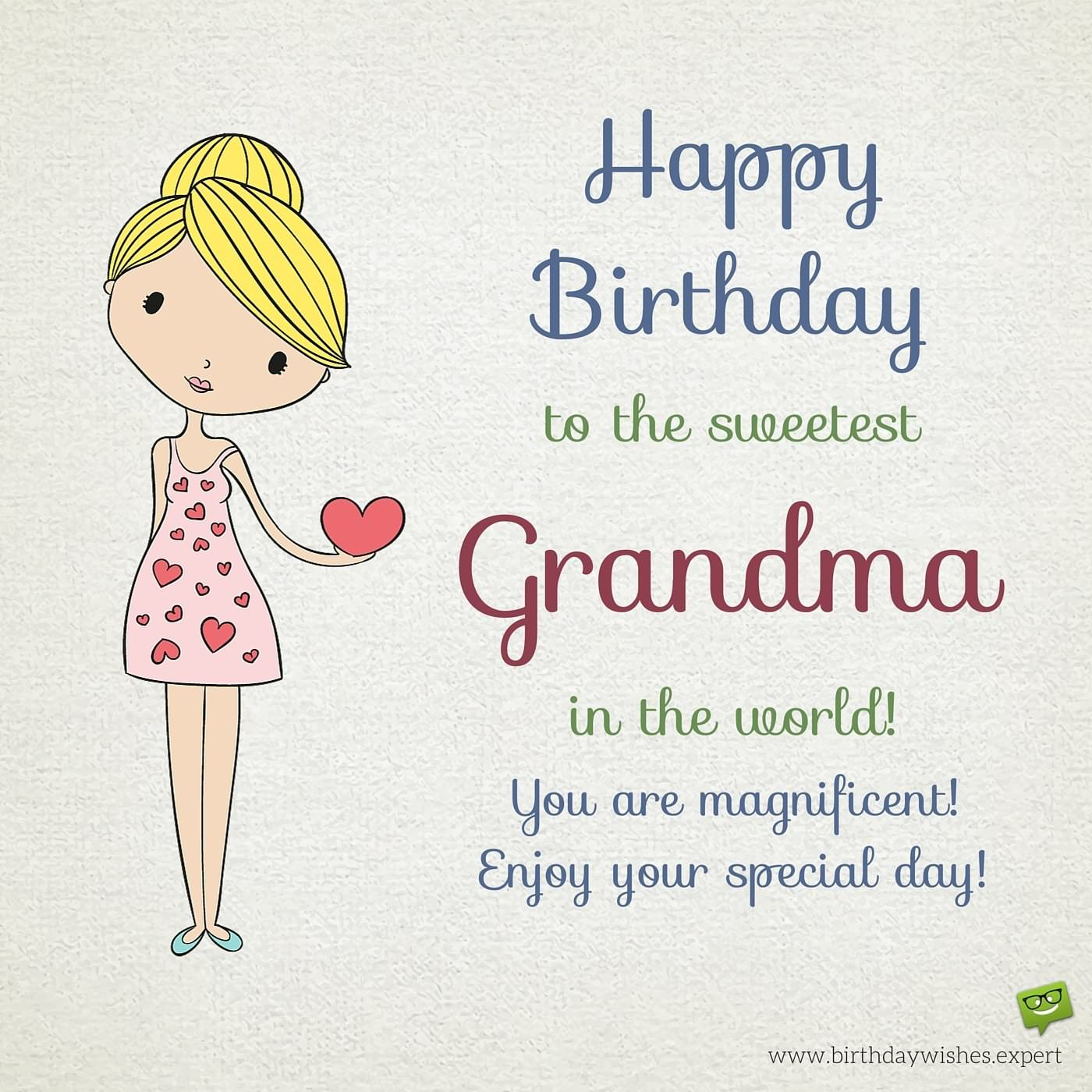 Happy Birthday Grandma Warm Wishes For Your Grandmother