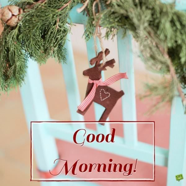 Celebration Time Good Morning Wishes For Christmas