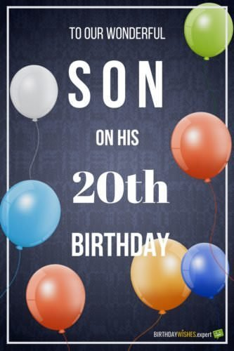 Birthday Quotes Wishes Son My Happy