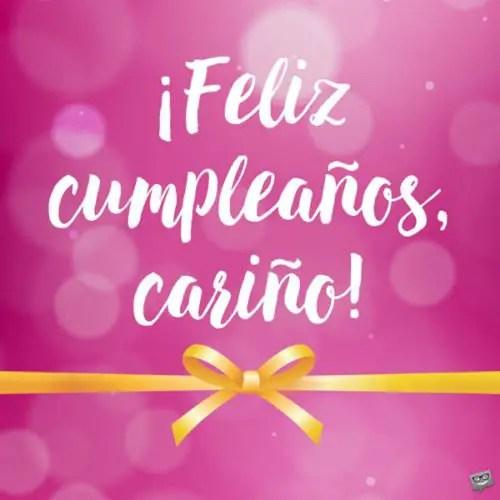 Happy Birthday In Spanish Feliz Cumpleanos
