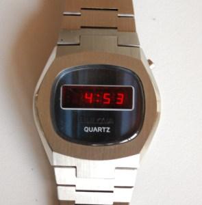 1976 Bulova LED Bracelet watch