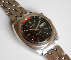 1971 Seiko Bellmatic alarm automatic men's watch