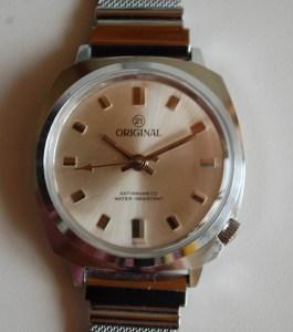 1979 Original men's manual wind watch