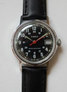 1976 Timex 'Military' dial