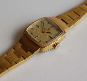 1978 Tissot Ladies gold plated