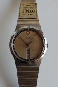 1979 Timex 'Big Q' Quartz