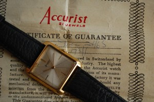 1965 Accurist 21J mens watch