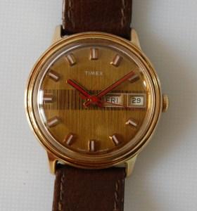 1974 Timex day date men's watch