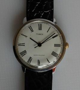 1978 Timex manual wind dress watch