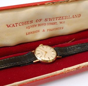 1959 Rotary ladies 9ct gold watch