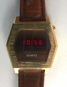 1976 Bulova LED Quartz