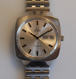 1974 Omega Geneve automatic watch with squared case