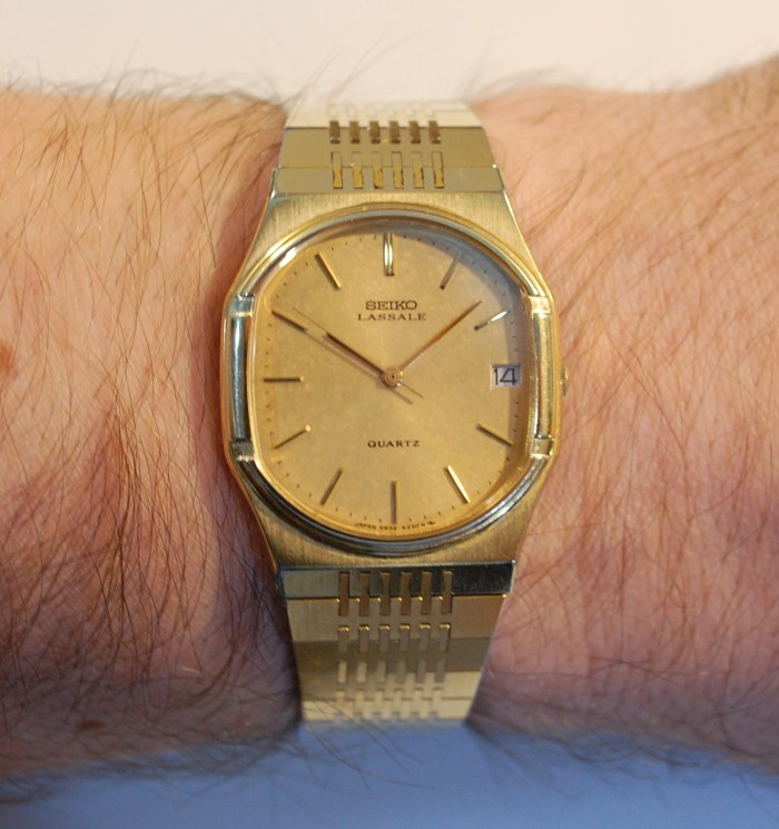 1981 Seiko Lassale, with box and papers
