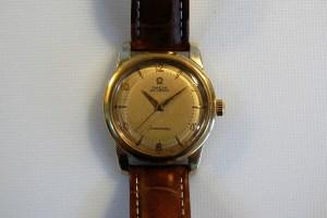 1954 Omega Seamaster bumper automatic men's watch