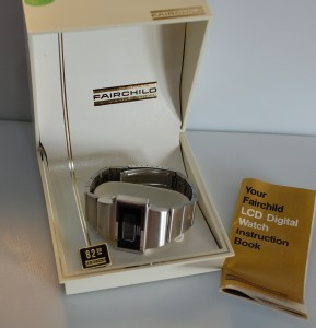 1976 NOS Fairchild LCD watch