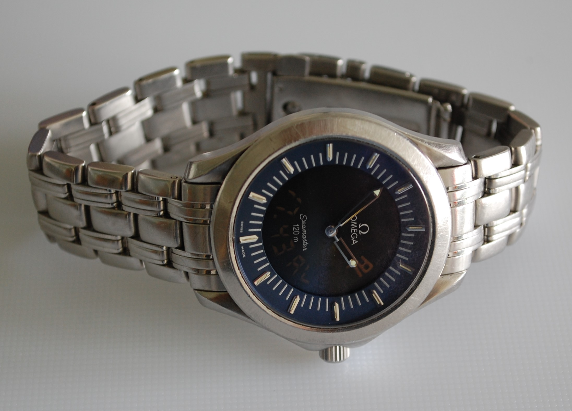 SOLD 1998 Omega Seamaster 120m Multifunction - Birth Year