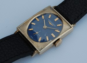 1966 1967 Longines fancy cased watch with sub seconds