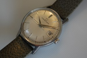 c1964 Eterna-Matic men's stainless steel watch