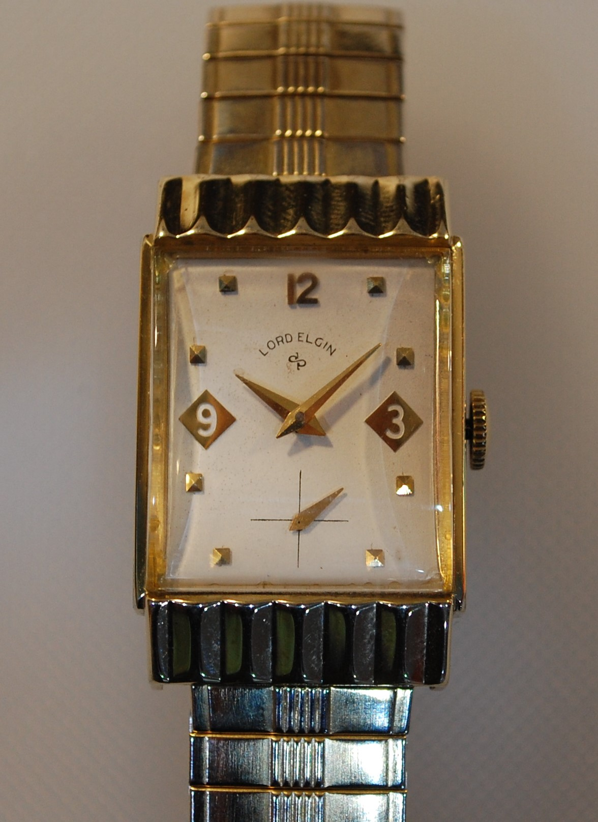 product face pocket elgin watch filled open lee raymond pre gold watches owned jewelers yellow