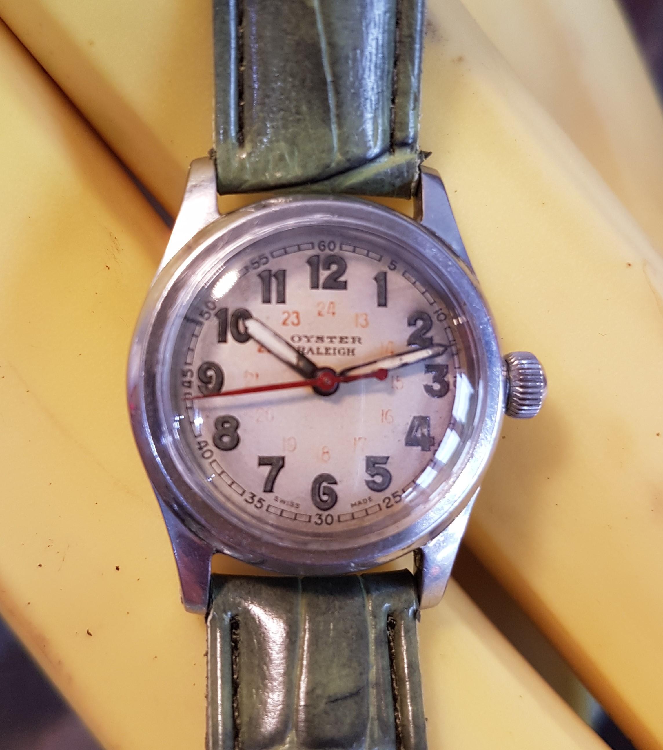 Sold 1940 rolex oyster raleigh birth year watches homesold 1940 rolex oyster raleigh aiddatafo Gallery