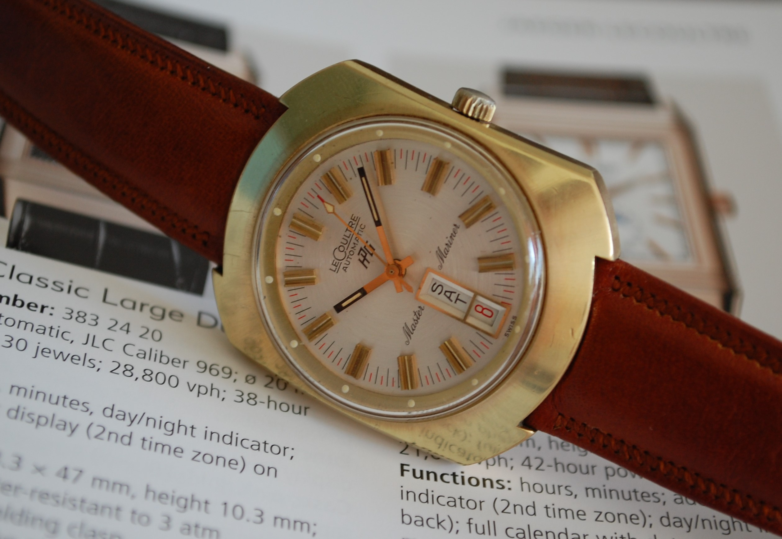 watches sea bringing back hawk feature to perregaux girard caliber vintage life page ambwatches