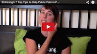 7 tips for helping pelvic pain in pregnancy