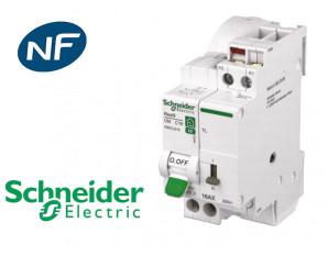 Combine Disjoncteur Telerupteur 16a Schneider Resi9 Xe Schneider Resi9 Xe Chez Bis Electric