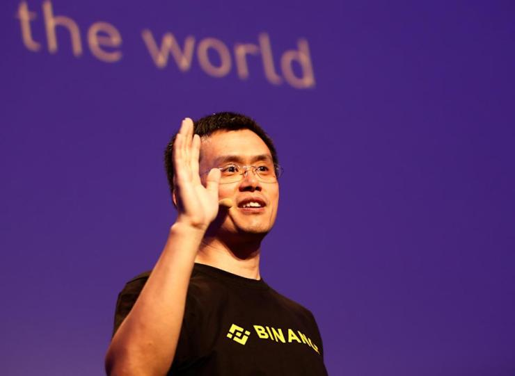 Changpeng Zhao, CEO of Binance, speaks at the Delta Summit, Malta's official event for blockchain and digital innovation to advance cryptocurrency, in St. Julian's, Malta on October 4, 2018. REUTERS / Darrin Zammit Lupi