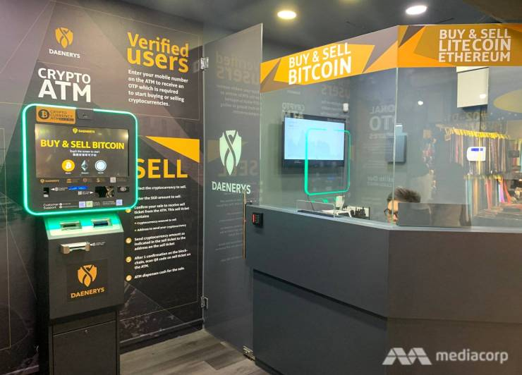 Crypto 03 cryptocurrency cryptocurrency bitcoin ethereum litecoin atm - file photo