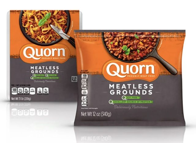 Packs of meatless set from Quorn