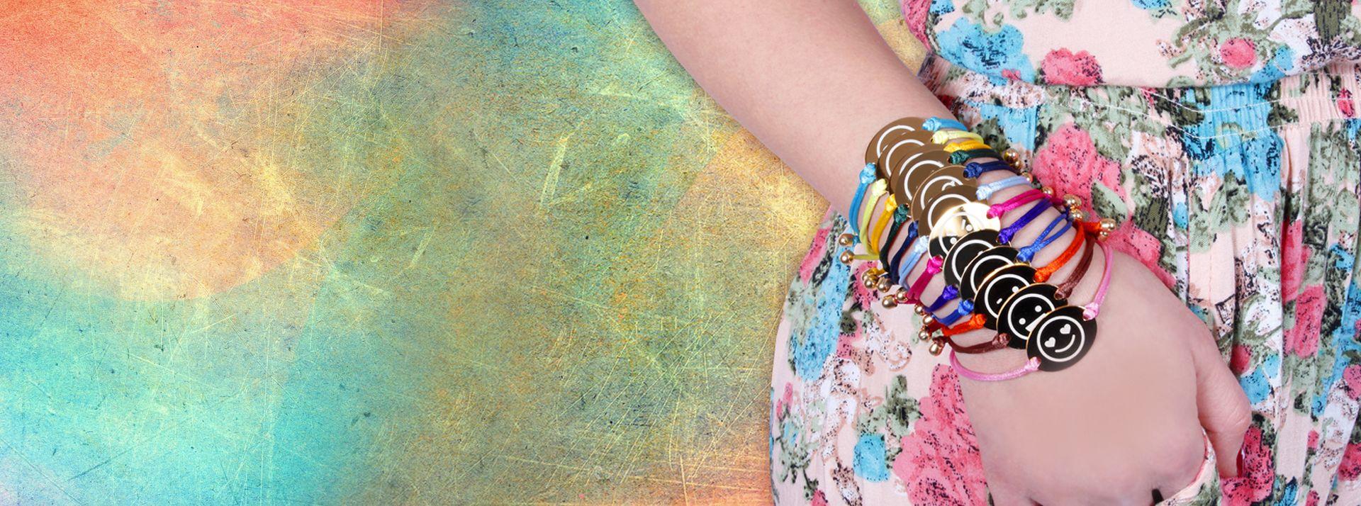 bracciali color silk