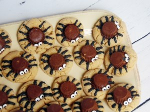 peanut butter spider cookies recipe