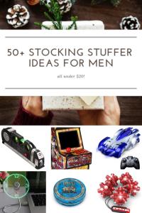 50+ stocking stuffer ideas for men