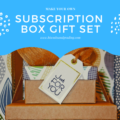 How to Make Your Own Subscription Box Gift