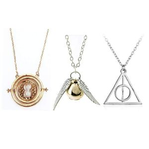 harry potter necklace set