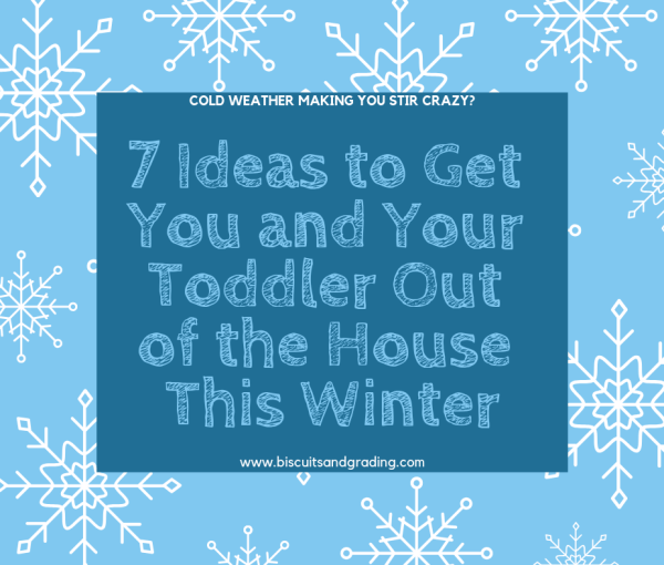 7 Ideas to Get You and Your Toddler Out of the House This Winter