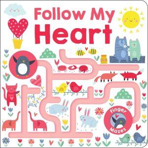 follow my heart finger mazes