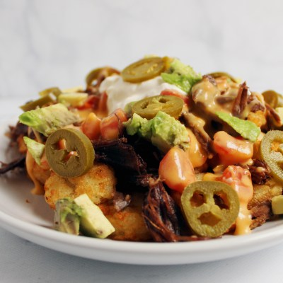 pot roast totchos
