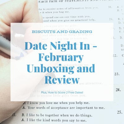 Date Night In Box - February Unboxing and Review (And How to Score 2 Free Dates!)