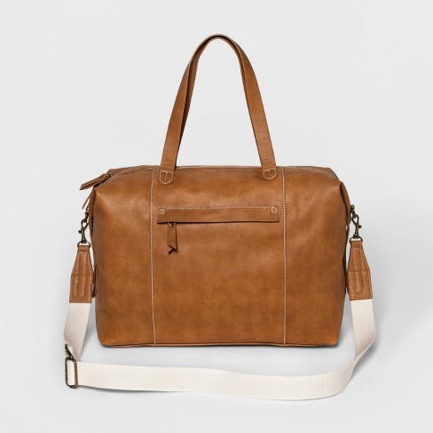 Women's Next Faux Leather Weekender Bag - Universal Thread™