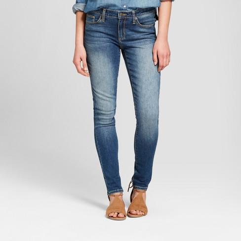 Women's Mid-Rise Skinny Jeans - Universal Thread™ Medium Wash