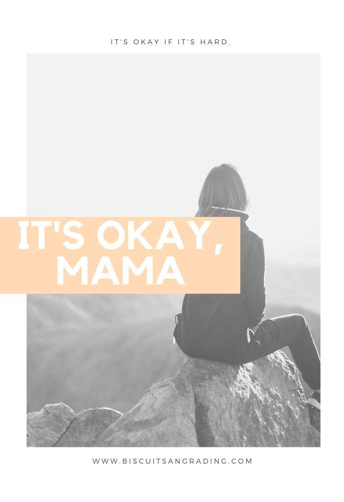 It's Okay, Mama #motherhood #ppd #newmom #momsupport