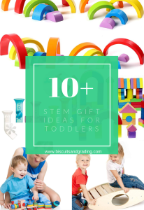 STEM gift ideas for 2 year olds