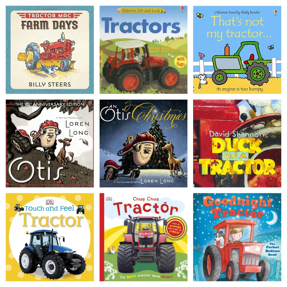 tractor book gifts for 2 year olds
